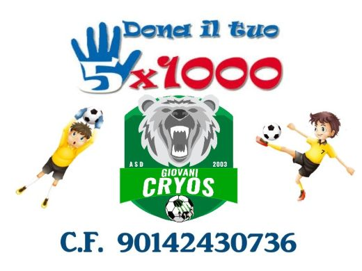 Home page 5x1000 Cryos