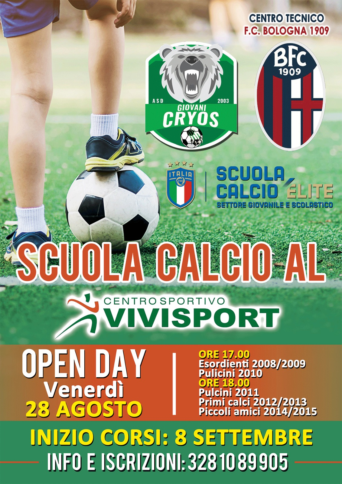 Evento Open Day al VIvisport